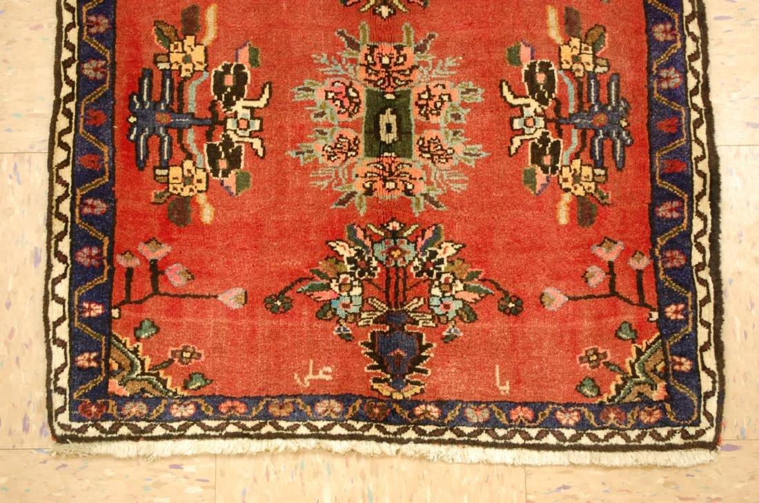 Detailed High Kpsi Persian Bijar Rug 2.3x2.4 - 2
