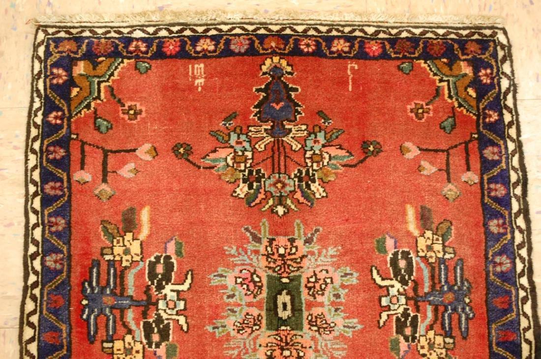 Detailed High Kpsi Persian Bijar Rug 2.3x2.4 - 3