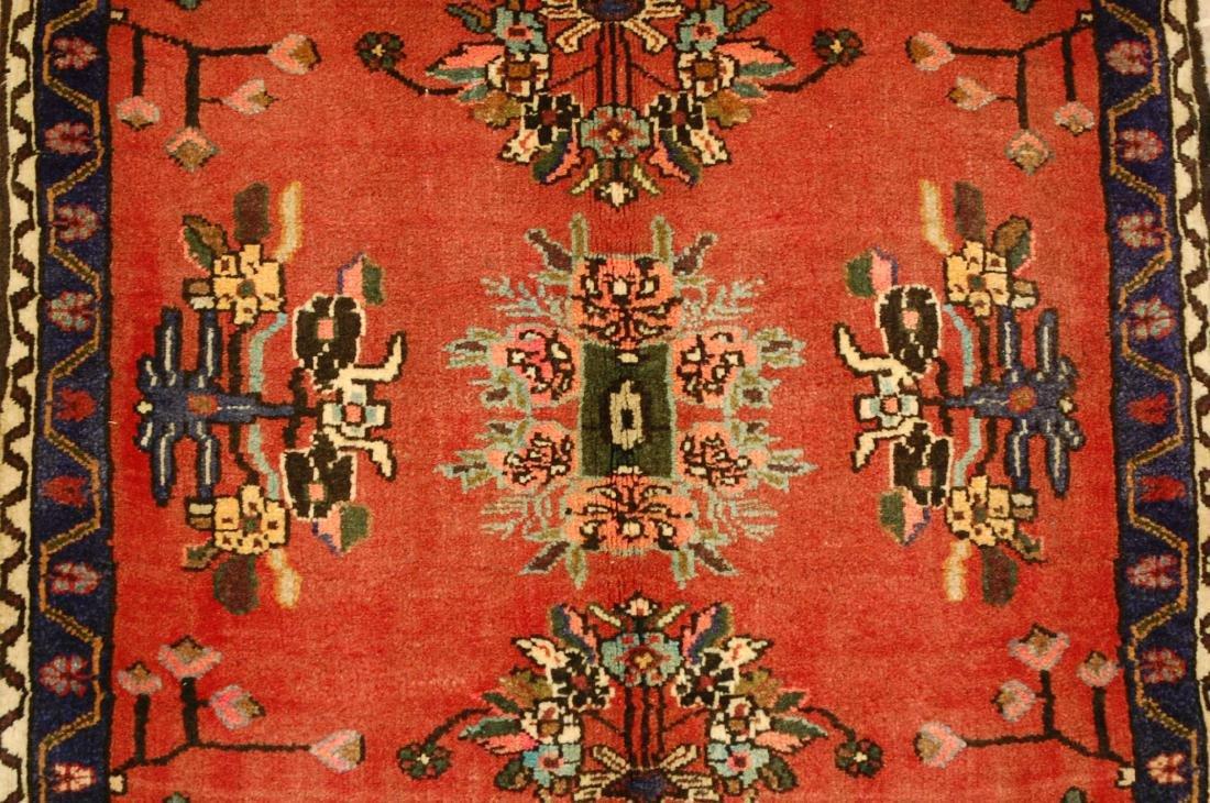 Detailed High Kpsi Persian Bijar Rug 2.3x2.4 - 4