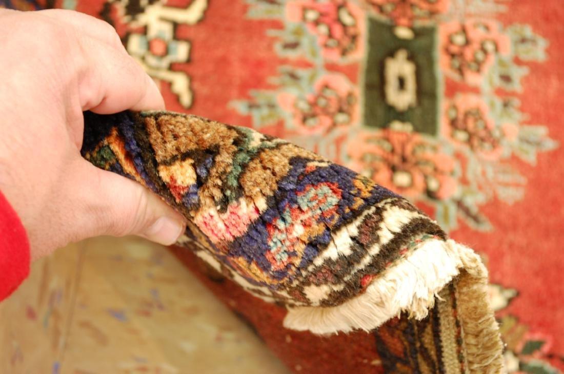Detailed High Kpsi Persian Bijar Rug 2.3x2.4 - 5