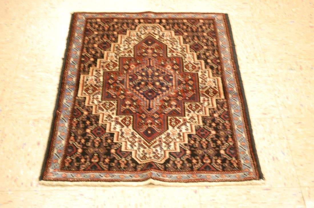 High Kpsi Persian Senneh Rug 2.2x3
