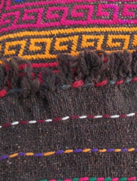 Hand made Suzni Wool Runner Rug 2.6x9.1 - 6
