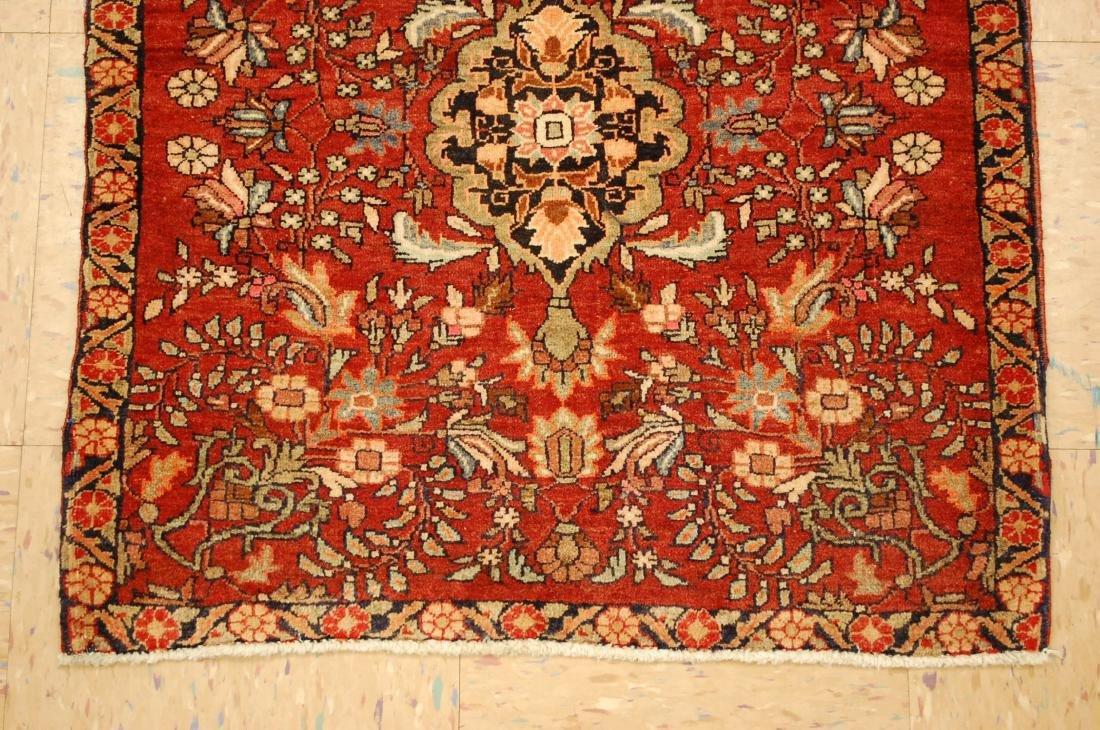 Square Persian Bijar Rug 2.3x2.5 2.3x2.5 - 2