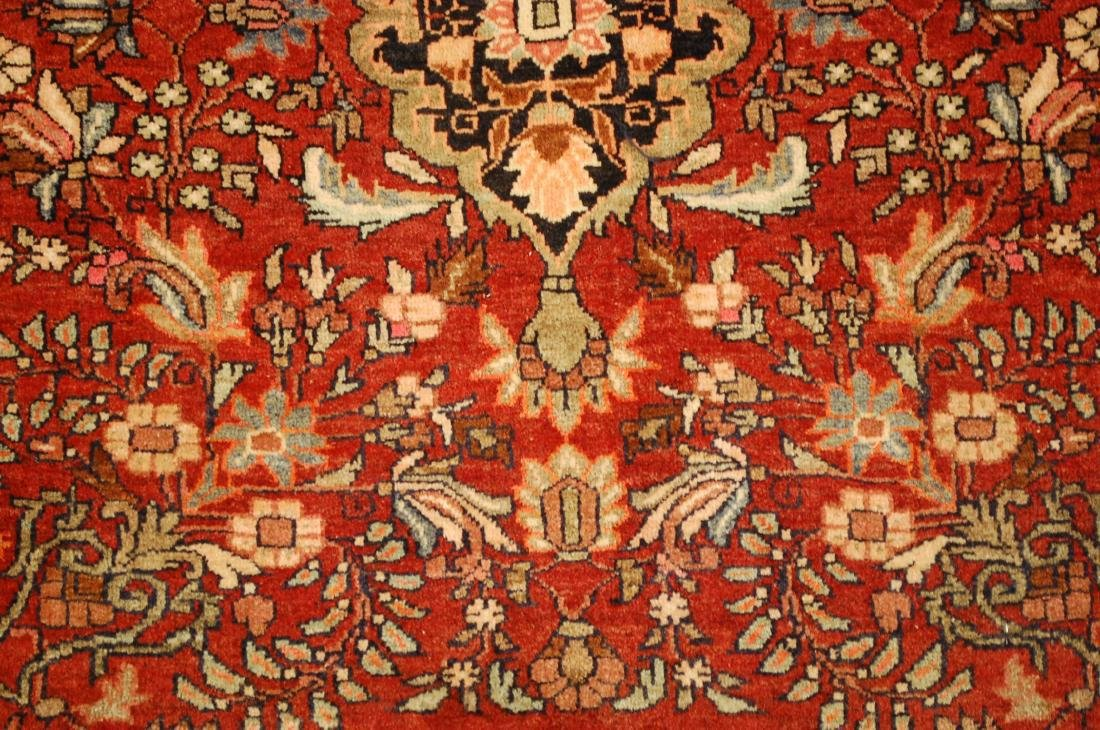 Square Persian Bijar Rug 2.3x2.5 2.3x2.5 - 4