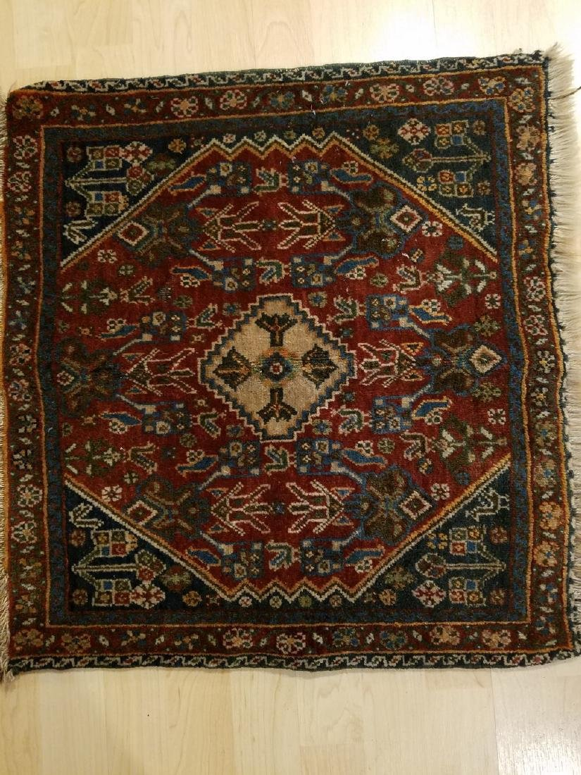 Fine 20th Century Hand-knotted Persian Tribal Rug 2x2