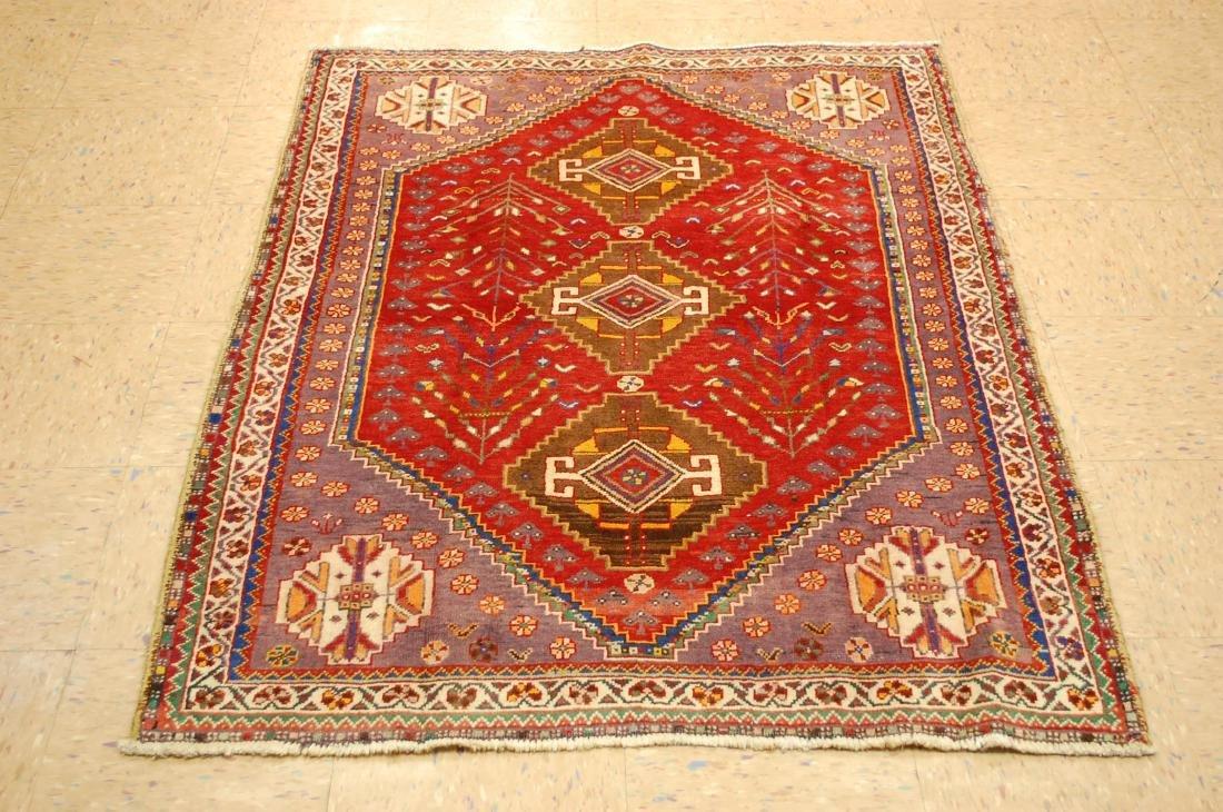 Persian Shiraz Qashkai Rug 3.8x5