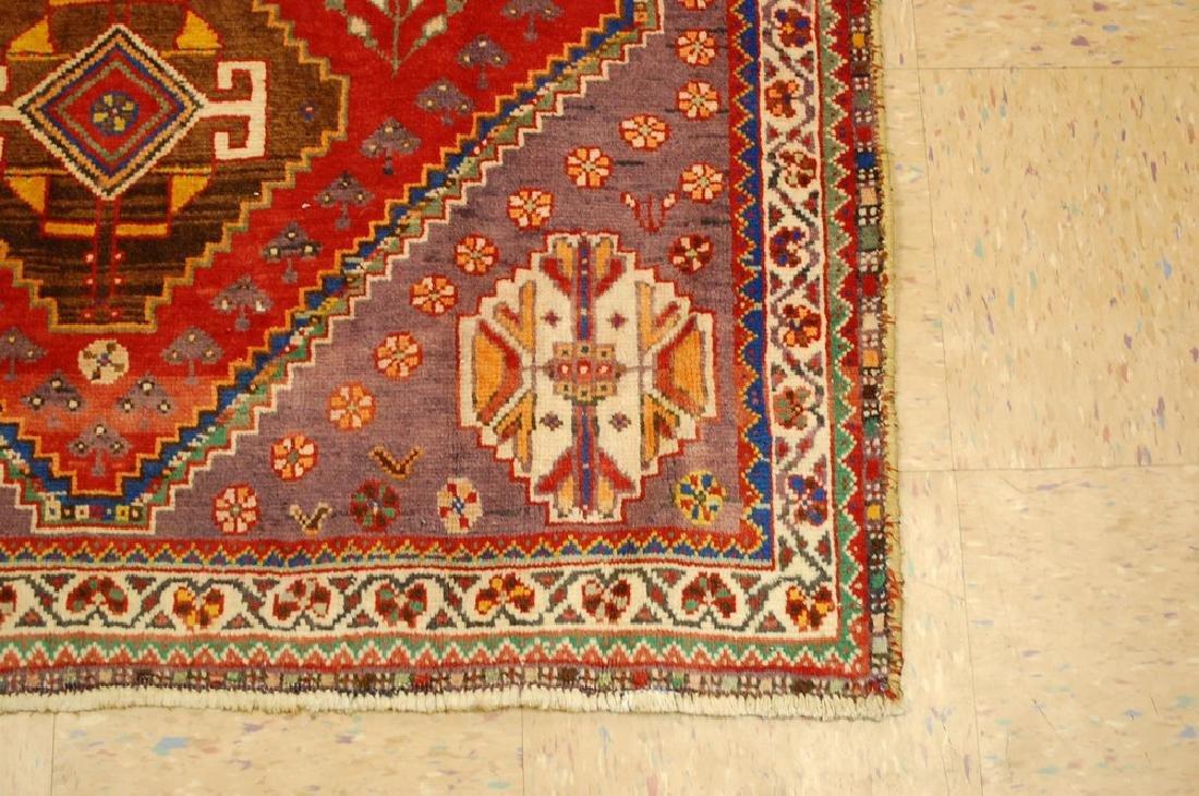 Persian Shiraz Qashkai Rug 3.8x5 - 2