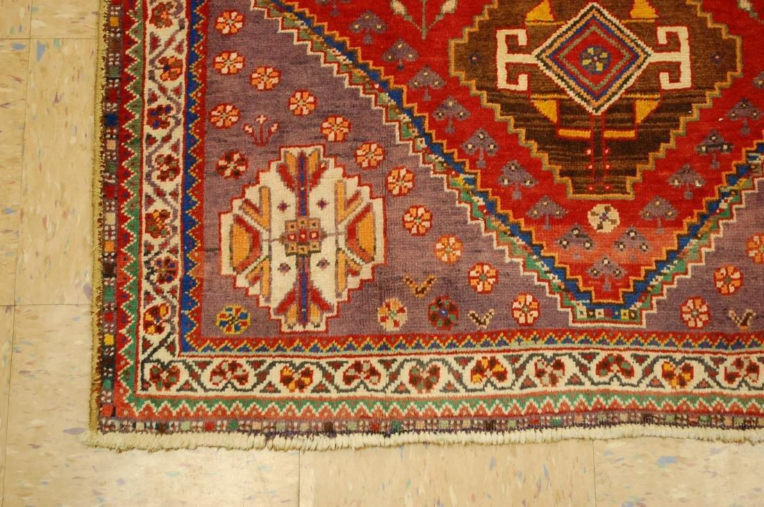 Persian Shiraz Qashkai Rug 3.8x5 - 3