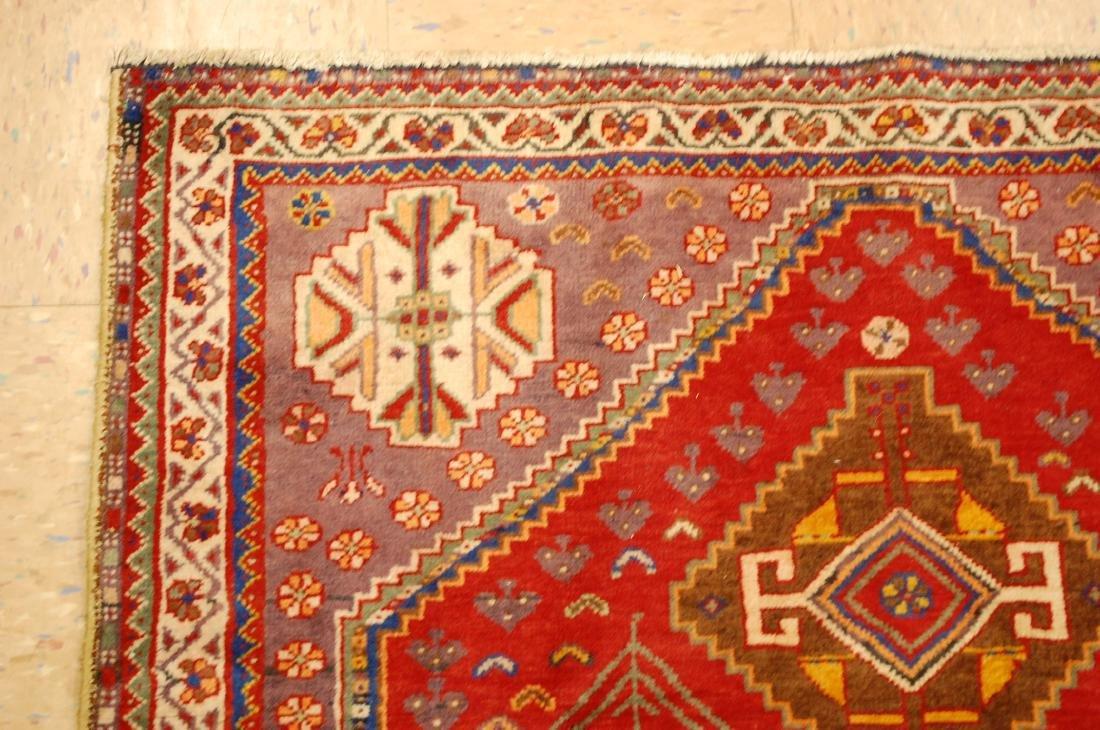 Persian Shiraz Qashkai Rug 3.8x5 - 4