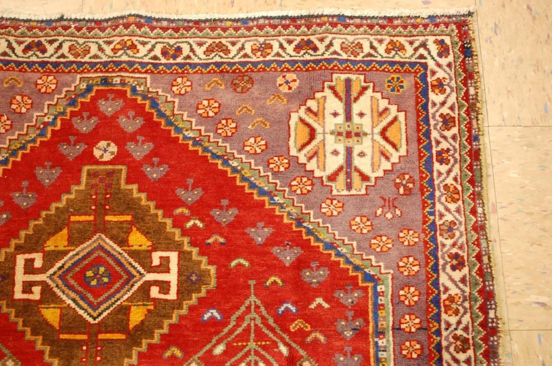 Persian Shiraz Qashkai Rug 3.8x5 - 5