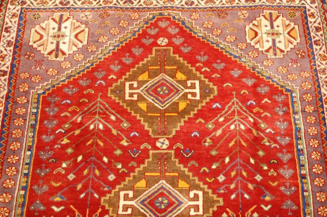 Persian Shiraz Qashkai Rug 3.8x5 - 6