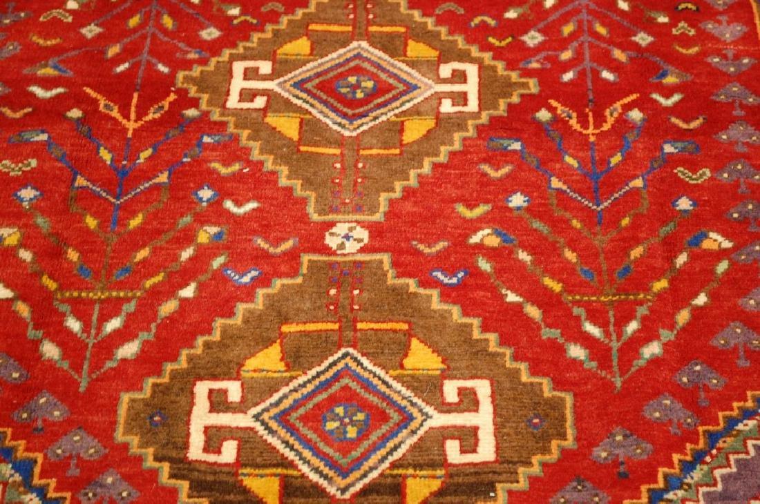 Persian Shiraz Qashkai Rug 3.8x5 - 7