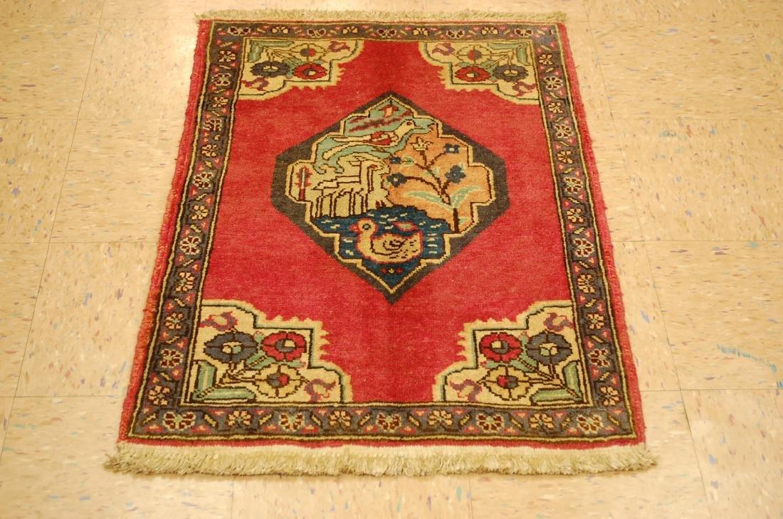 Highly Detailed Persian Tabriz Rug 2.4x3.3