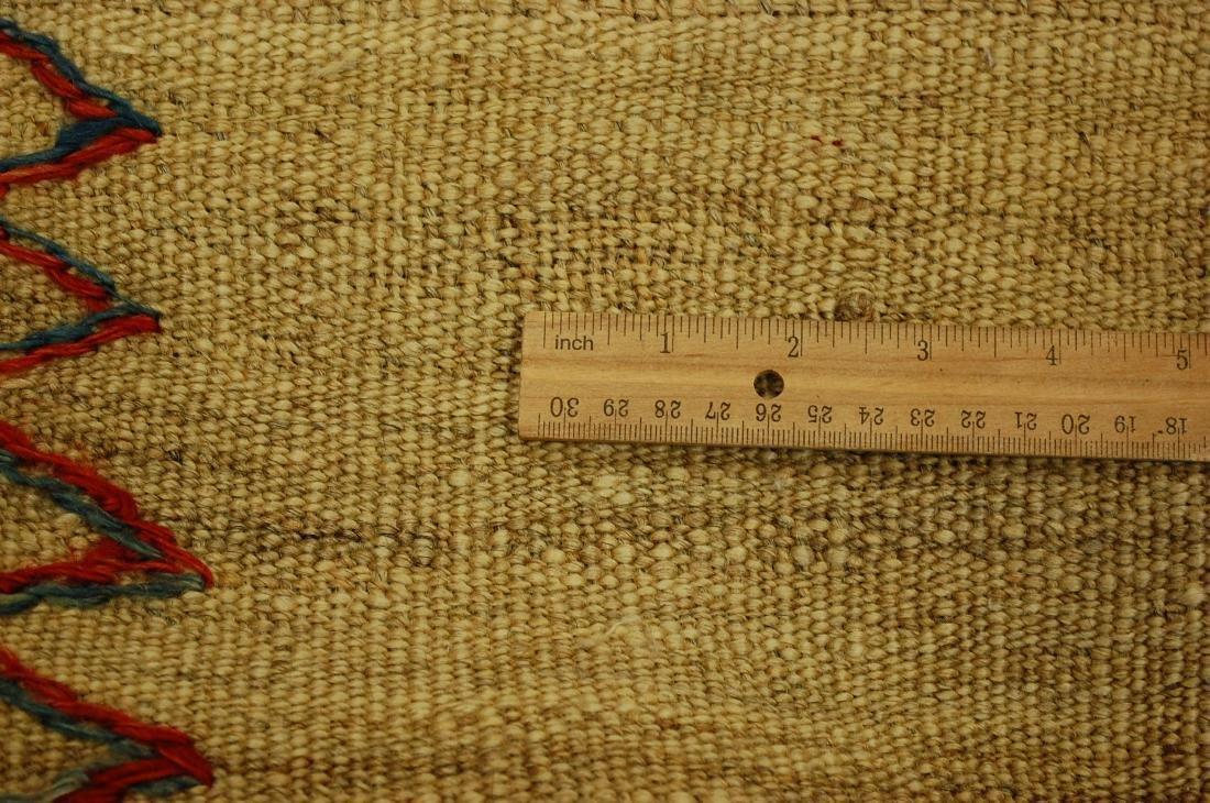 Persian Shiraz Qashkai Sofreh Kilim Woven Rug 3.6x4.4 - 9