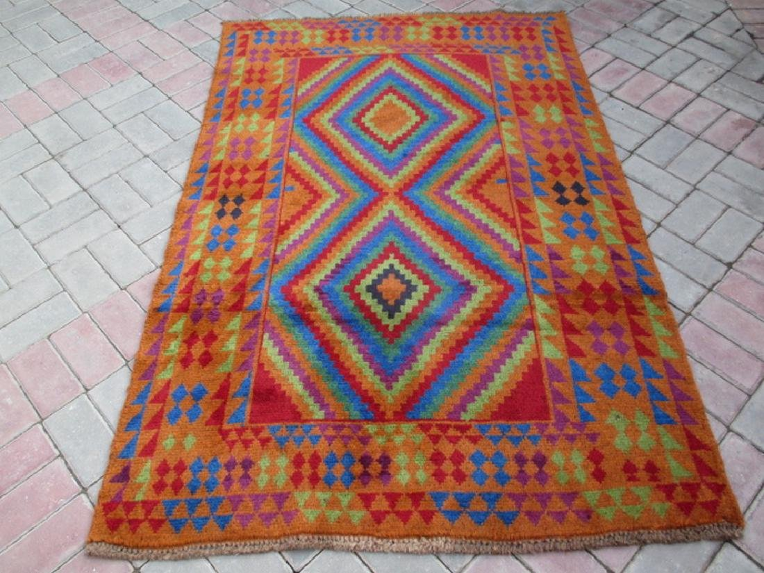Tribal Baluchi Rug 6x13.11