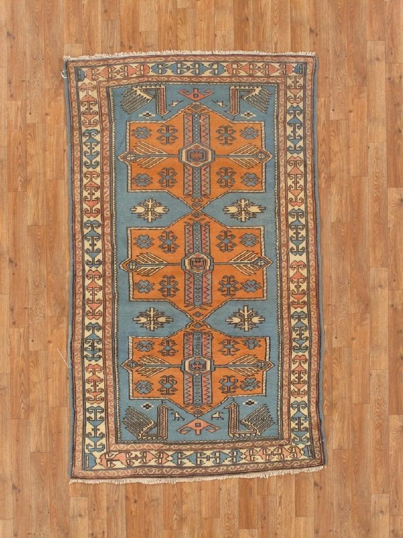 Turkish Shirvan Rug 3.3x6.1