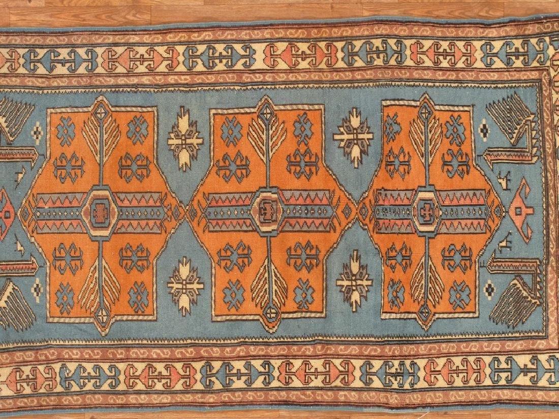 Turkish Shirvan Rug 3.3x6.1 - 2