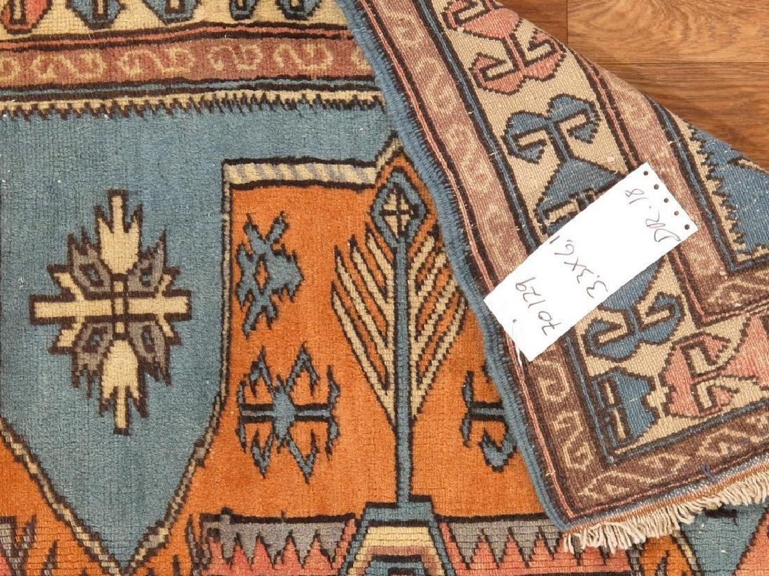 Turkish Shirvan Rug 3.3x6.1 - 5