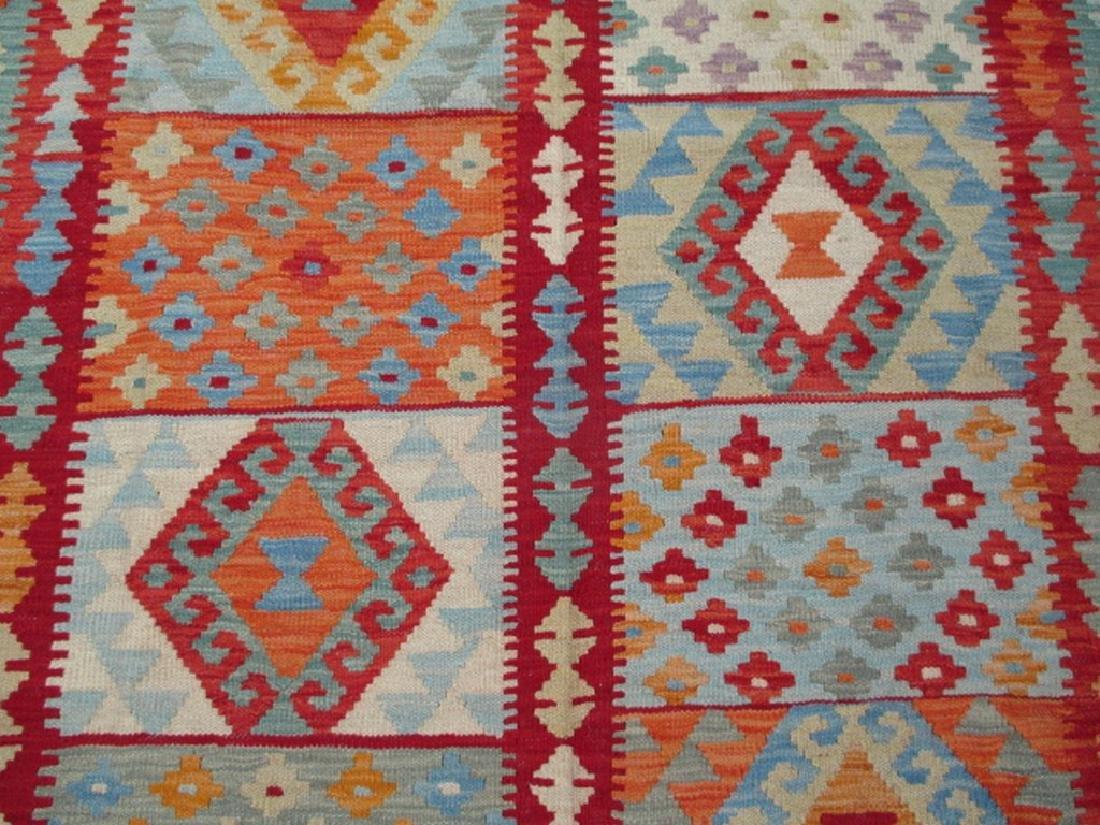 Hand Woven Chobi Kilim Rug 6.7x5 - 4