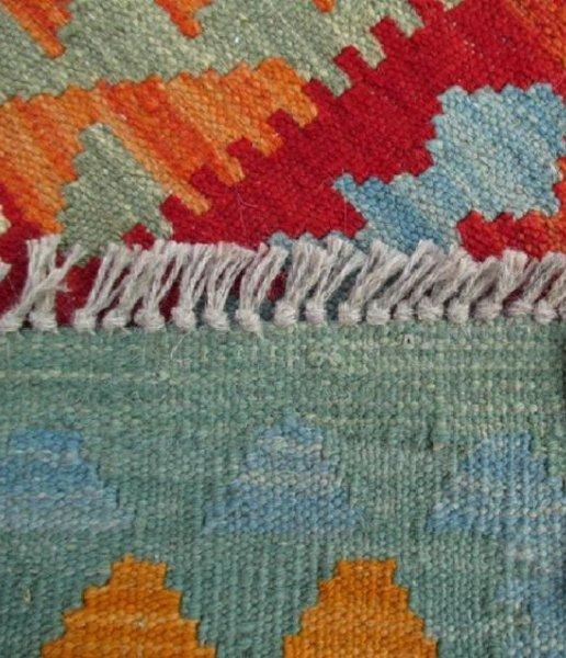 Hand Woven Chobi Kilim Rug 6.7x5 - 6