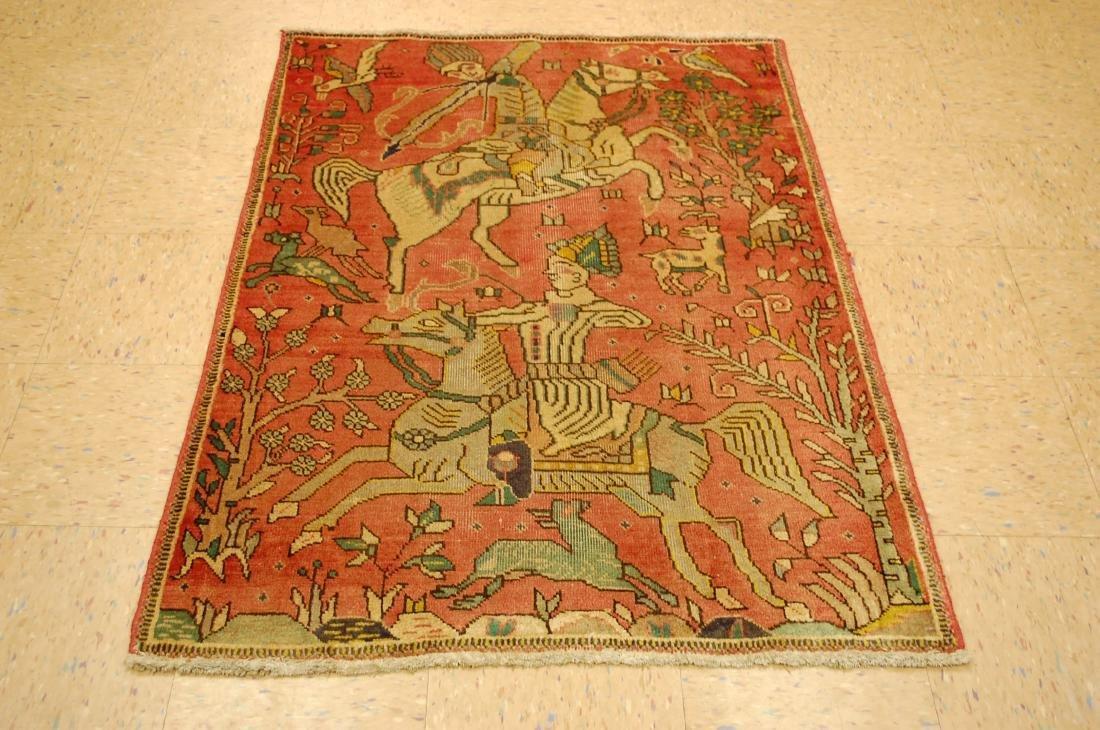 Persian Tabriz Rug 3.4x4.9