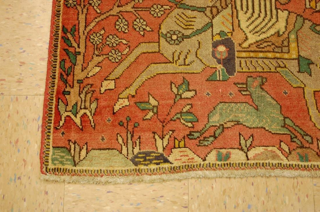 Persian Tabriz Rug 3.4x4.9 - 3