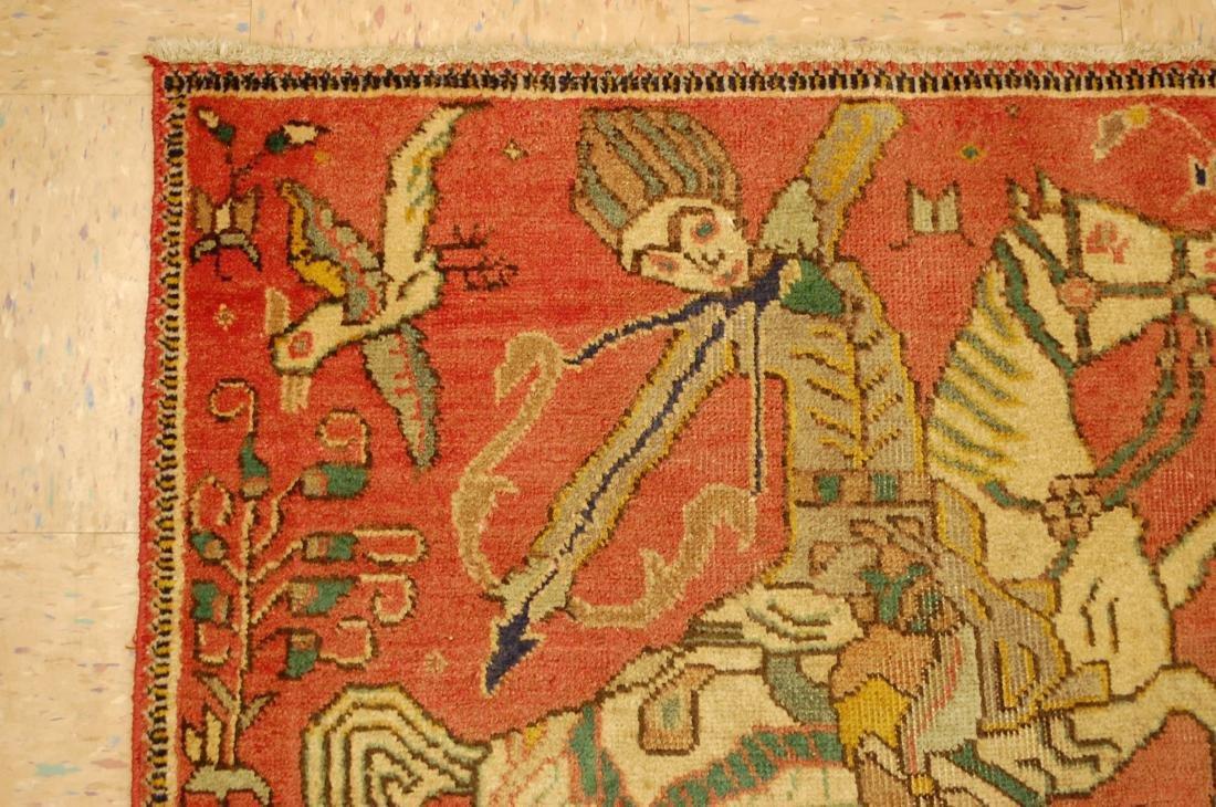 Persian Tabriz Rug 3.4x4.9 - 4