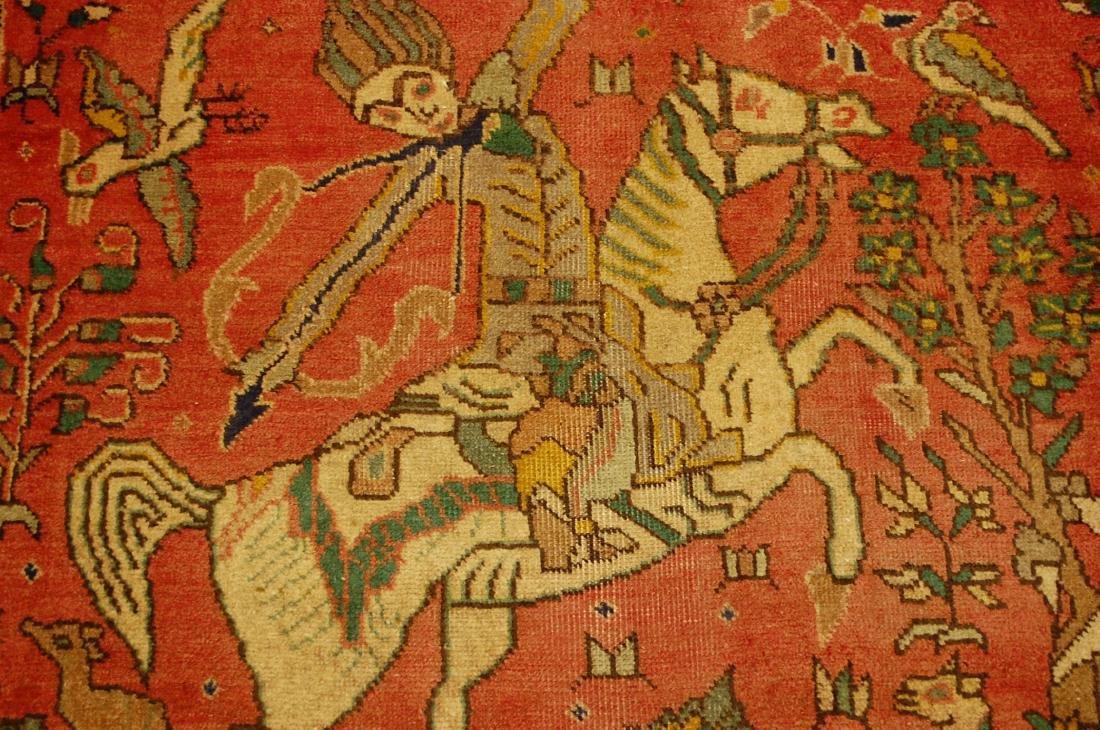 Persian Tabriz Rug 3.4x4.9 - 6