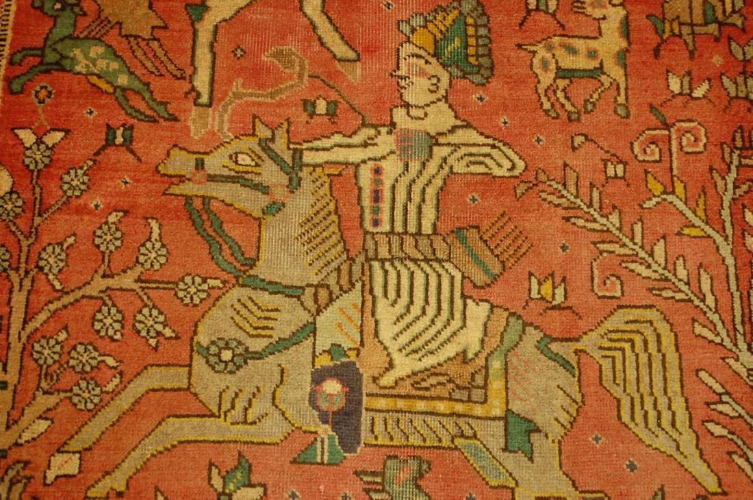 Persian Tabriz Rug 3.4x4.9 - 7