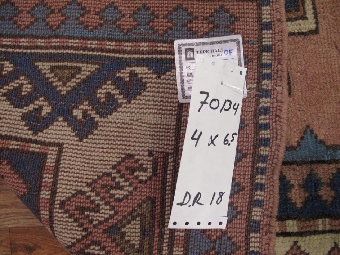 Turkish Milas Rug 4x6.5 - 8