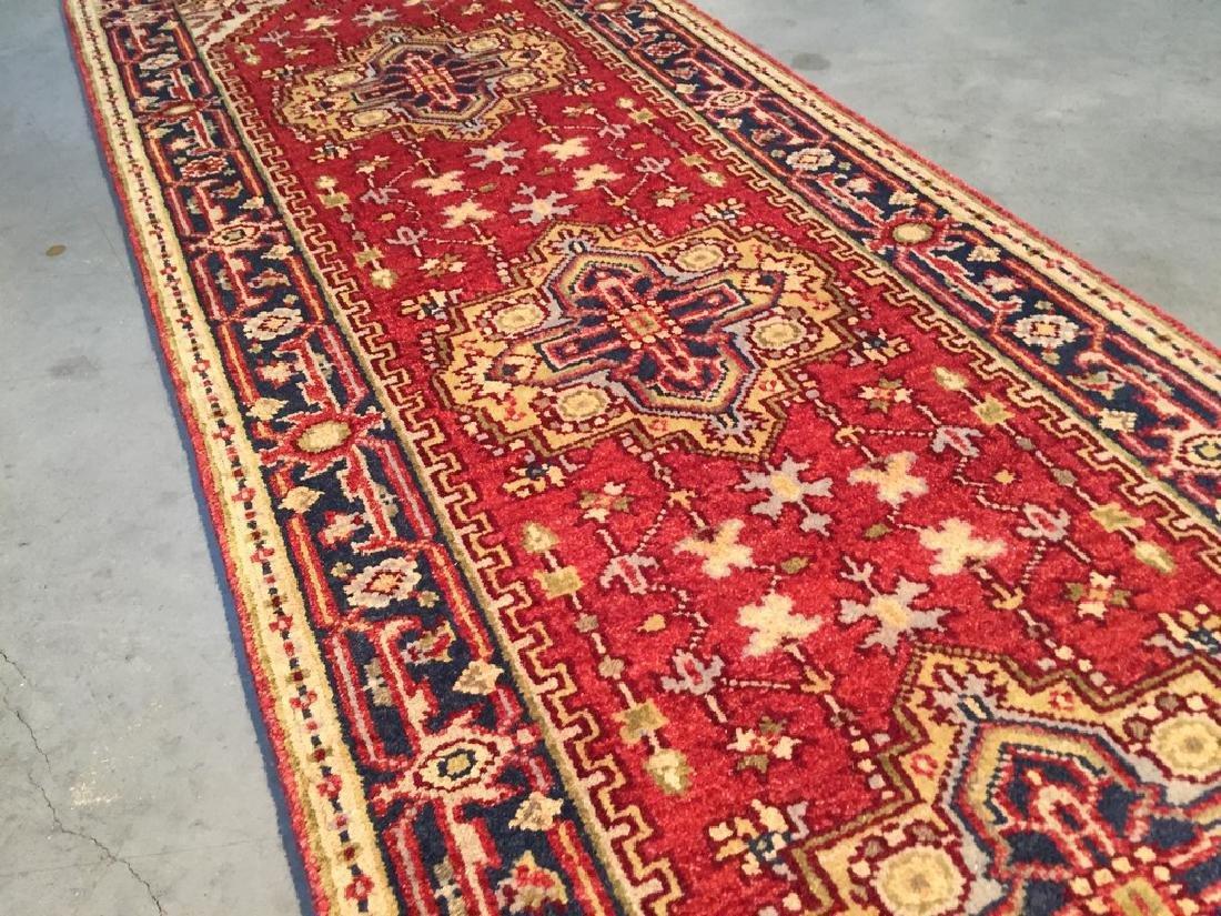 Classic Serapi Design Wool Runner Rug 2.6x8 - 3