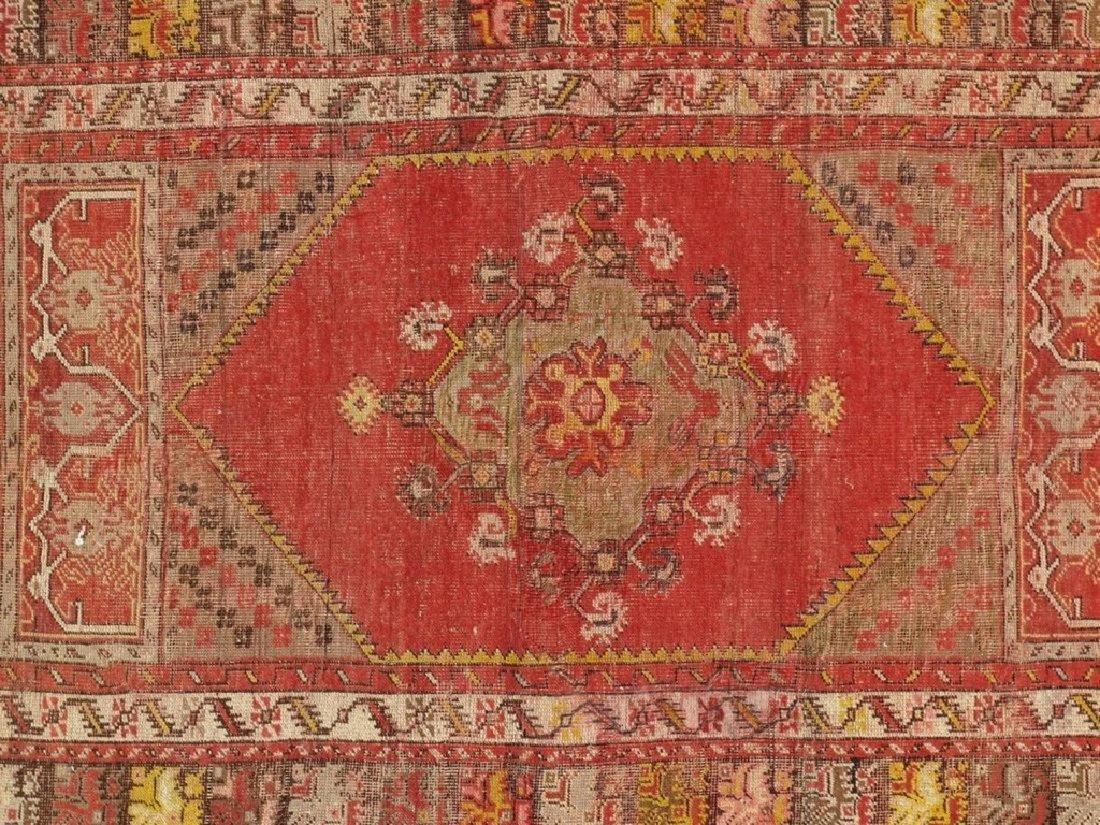 Antique Turkish Konia Rug 3.6x4.11 - 2