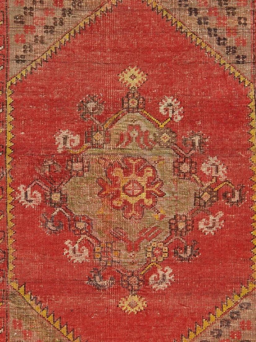 Antique Turkish Konia Rug 3.6x4.11 - 3
