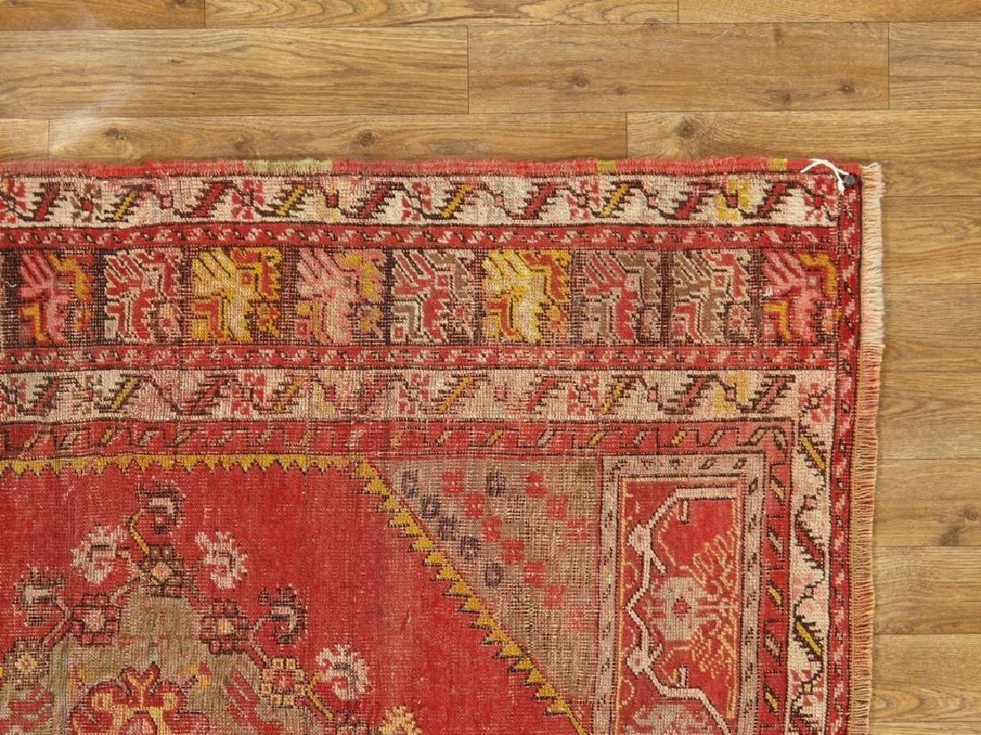 Antique Turkish Konia Rug 3.6x4.11 - 4