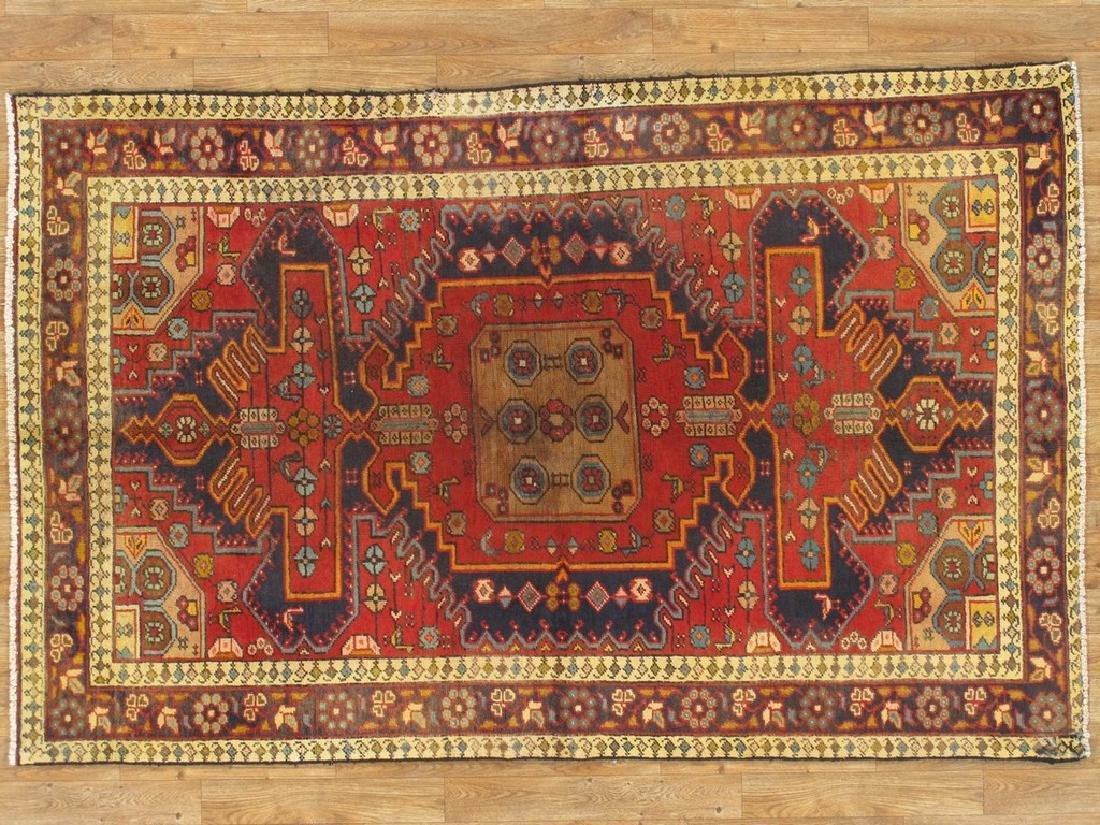 Persian Hamadan Rug 4x6.6