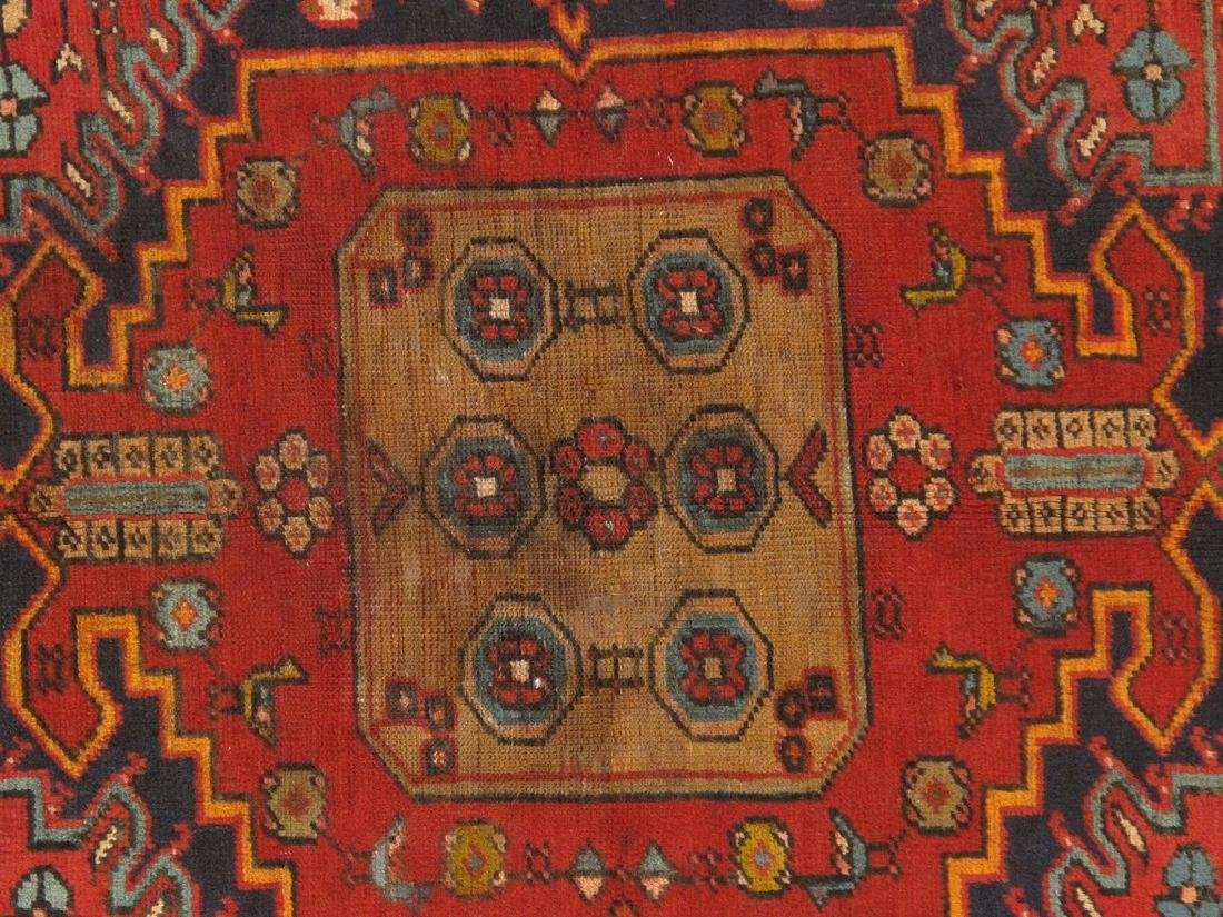 Persian Hamadan Rug 4x6.6 - 3