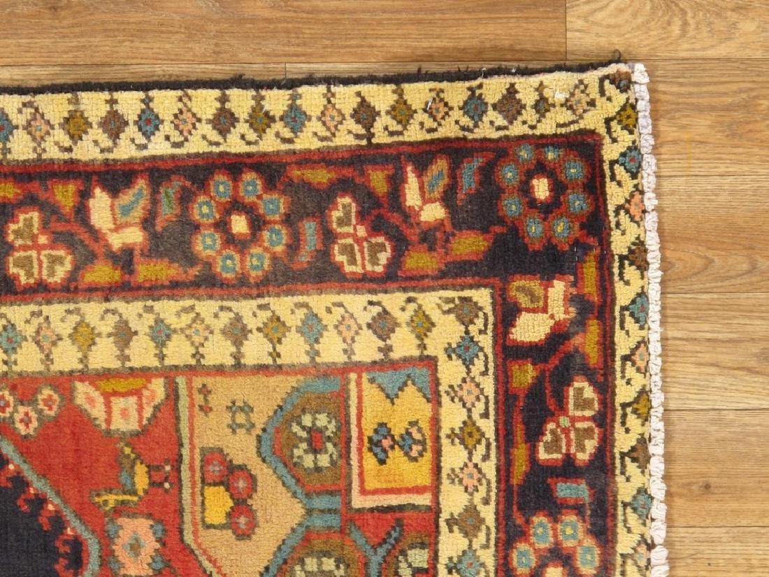 Persian Hamadan Rug 4x6.6 - 4