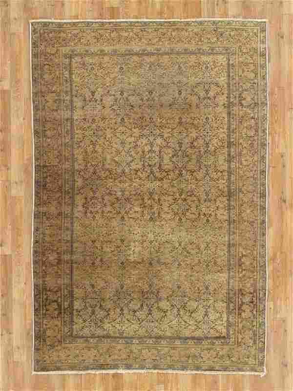 Antique Turkish Kasari Rug 4.8x6.1