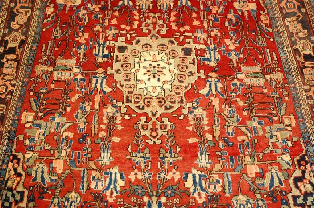 Detailed High Kpsi Persian Bijar Rug 4.5x7.10 - 10