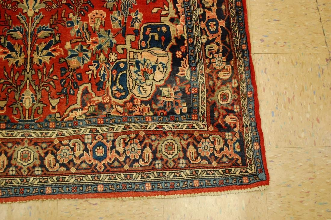 Detailed High Kpsi Persian Bijar Rug 4.5x7.10 - 2