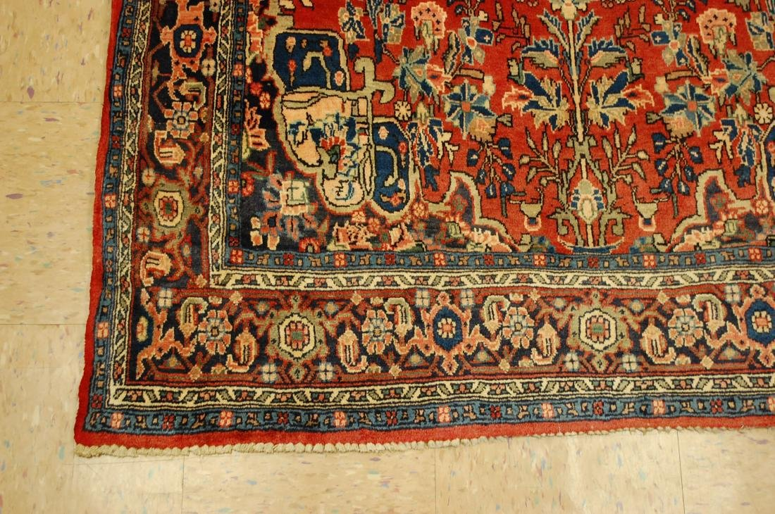 Detailed High Kpsi Persian Bijar Rug 4.5x7.10 - 3