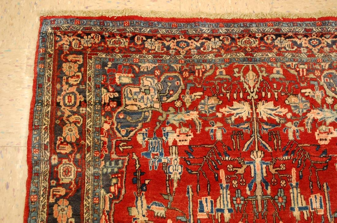 Detailed High Kpsi Persian Bijar Rug 4.5x7.10 - 4