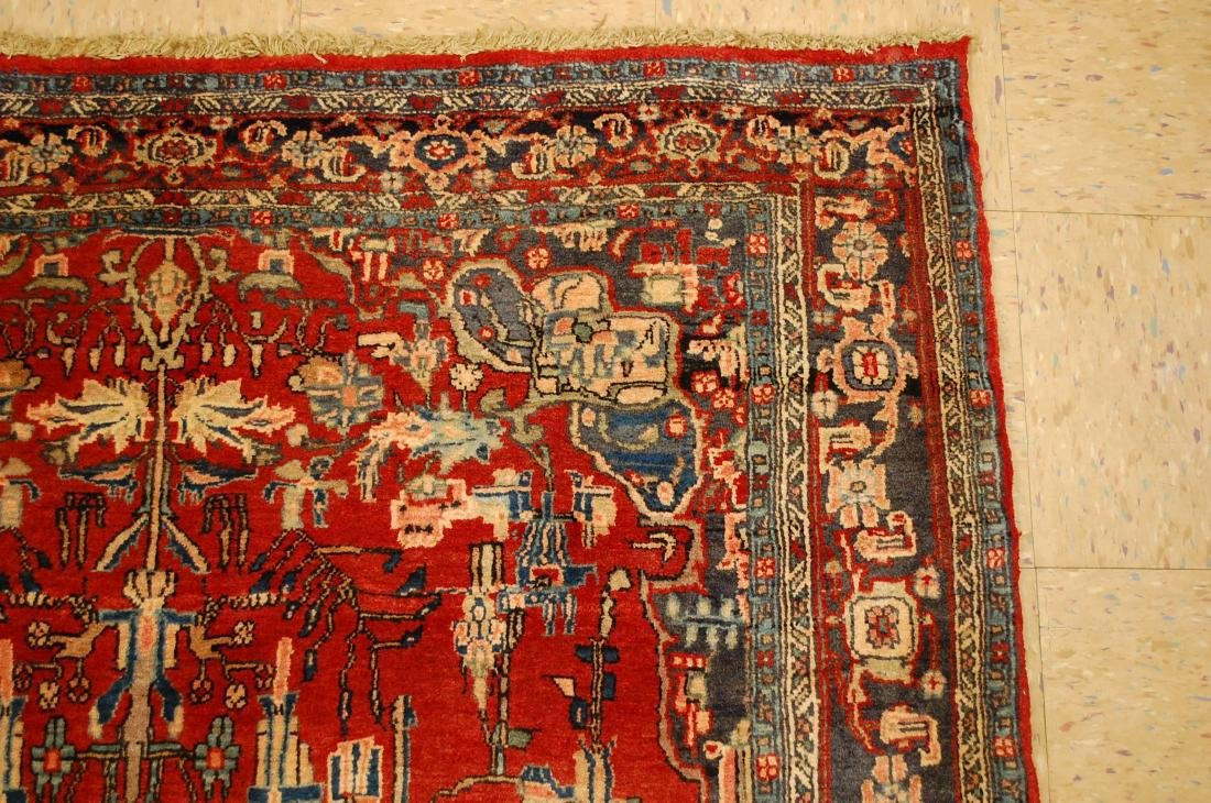 Detailed High Kpsi Persian Bijar Rug 4.5x7.10 - 5