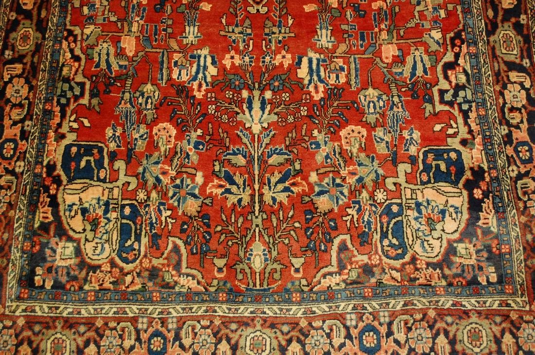 Detailed High Kpsi Persian Bijar Rug 4.5x7.10 - 6