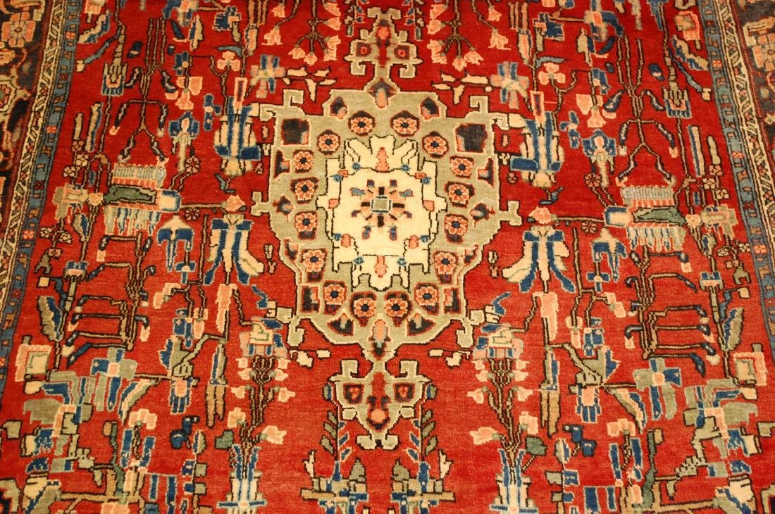 Detailed High Kpsi Persian Bijar Rug 4.5x7.10 - 7