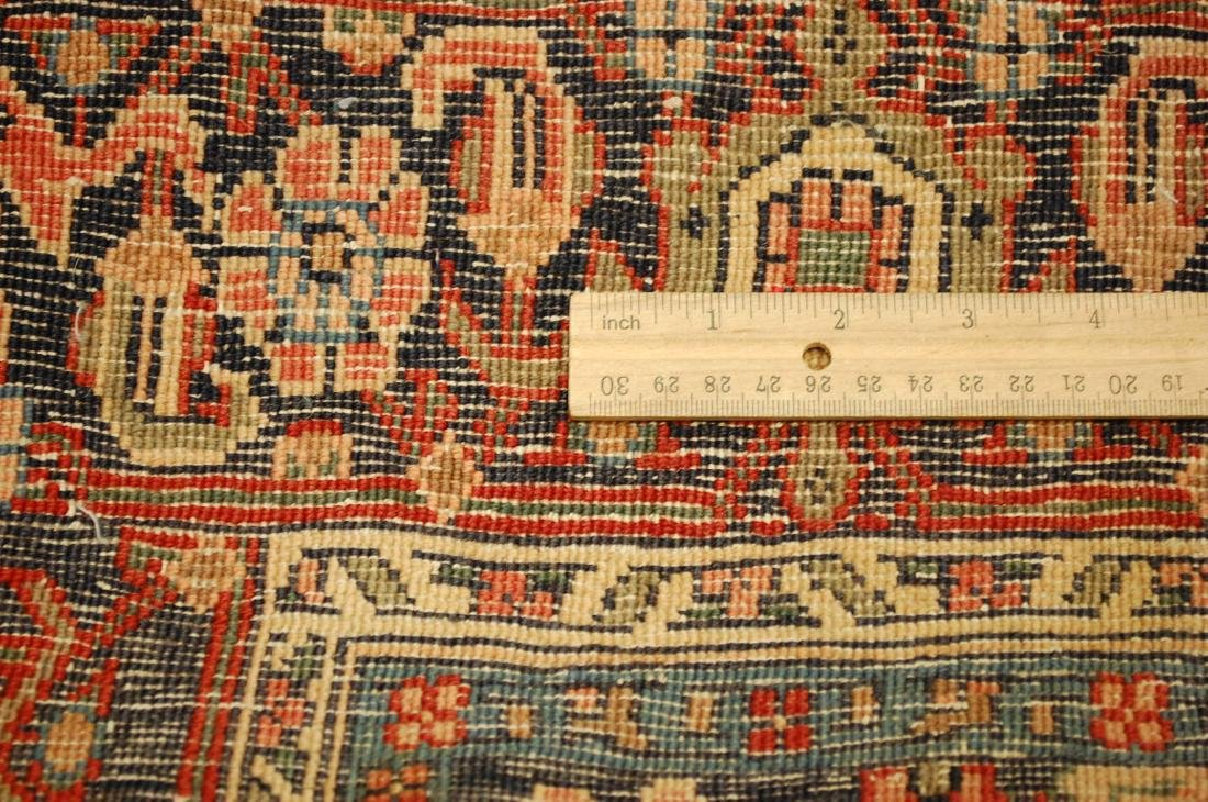 Detailed High Kpsi Persian Bijar Rug 4.5x7.10 - 9