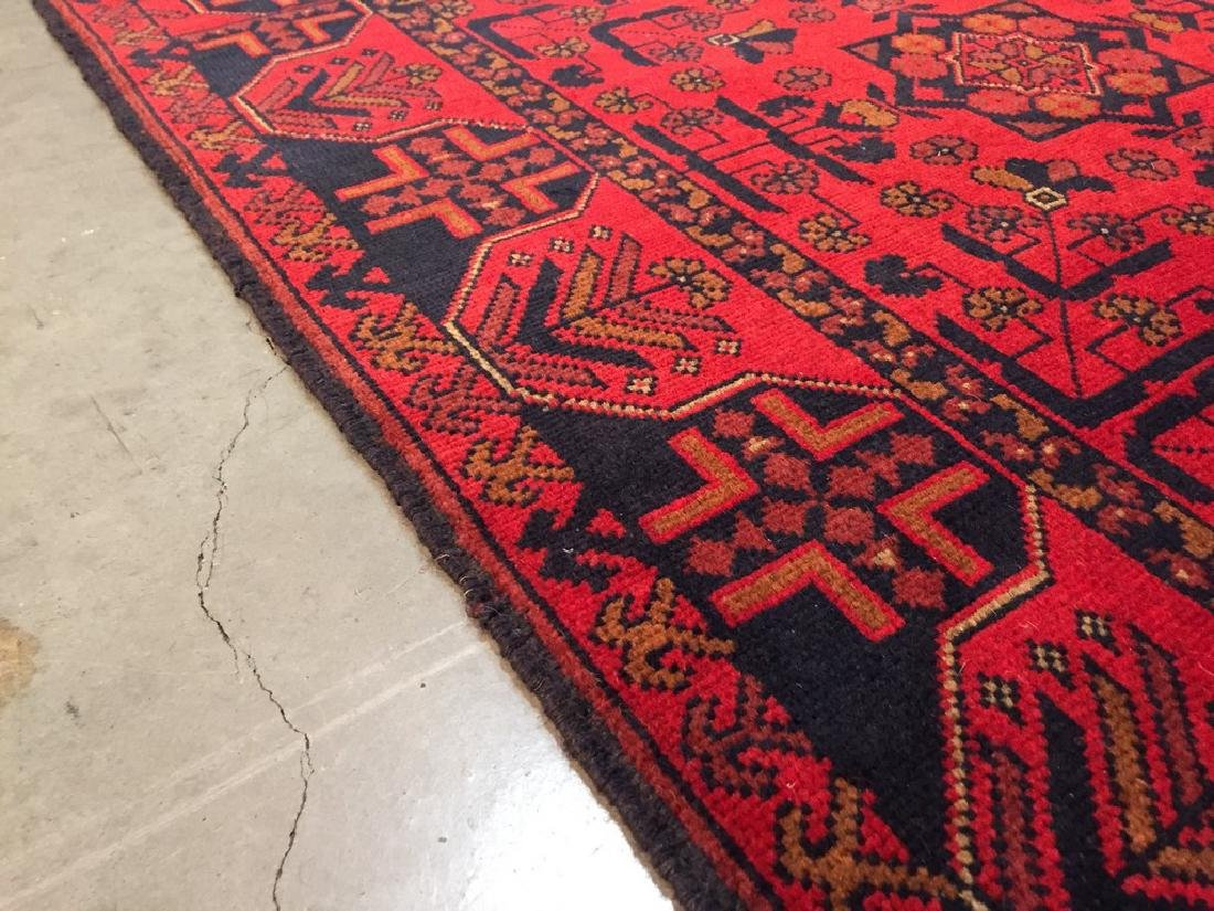 Decorative Hand Knotted Afghan Rug 3.3x5 - 3