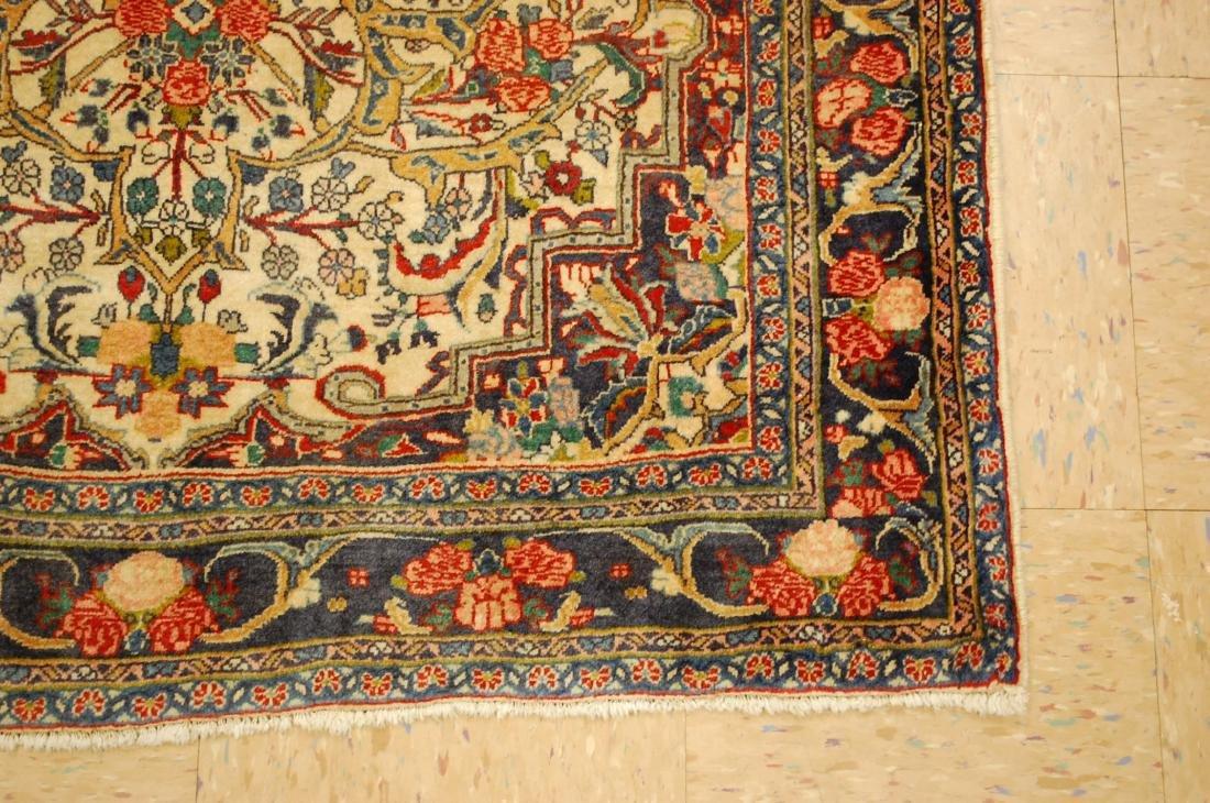 Rare Persian Bijar Rug 3.8x5.6 - 2