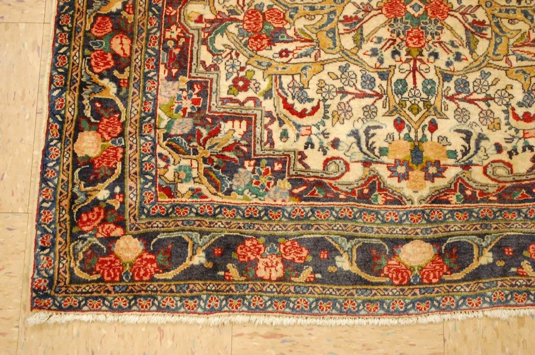 Rare Persian Bijar Rug 3.8x5.6 - 3
