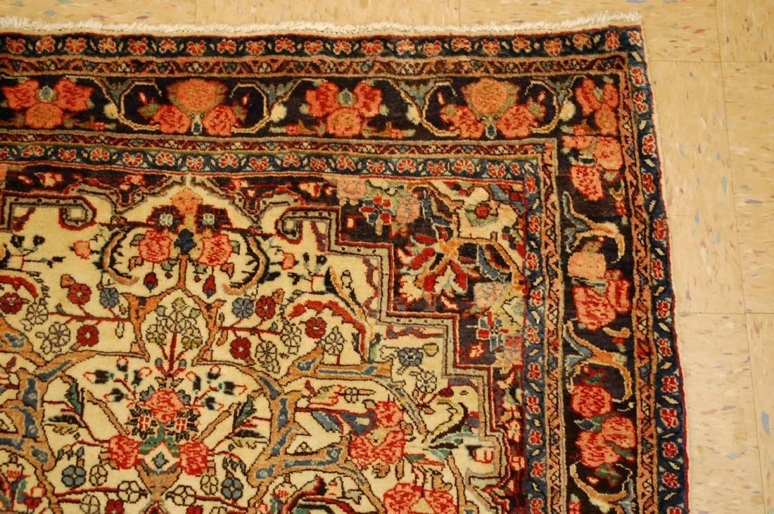 Rare Persian Bijar Rug 3.8x5.6 - 5